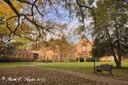 Autumn at Aldie Mansion