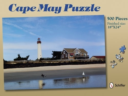 Cape May 18x24 500 piece Puzzle - Schiffer Publishing