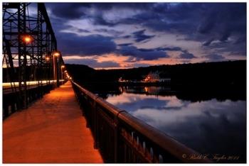 Dawn on the Delaware, New Hope - Lambertville