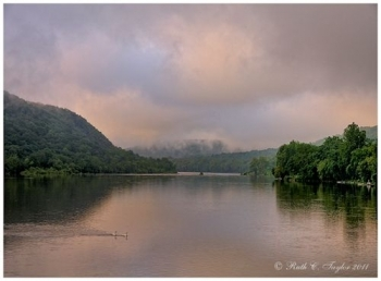 Peaceful Morning Along the Delaware -New Hope - Lambertville