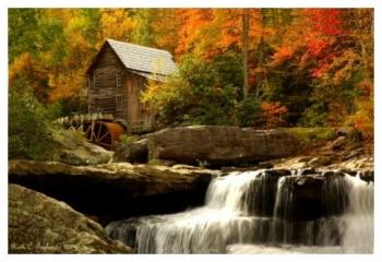 Glade Creek Grist Mill - Babcock Park, WV