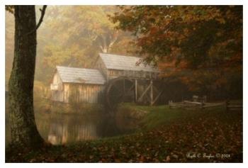 Misty Morning - Mabry Mill, VA