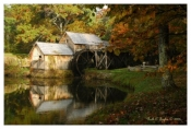Morning Light - Mabry Mill, VA
