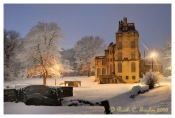 Snowy Evening at Fonthill - Doylestown, PA