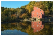 Autumn Mill Reflections - Clinton, NJ