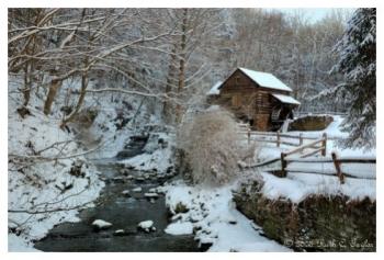 The Mill Along Cuttalossa Creek - New Hope, PA