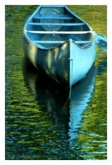 Canoe Reflections - Swartzwood Lake, NJ