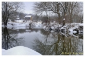 Winters Calm Along Tohickon Creek - Quakertown, PA