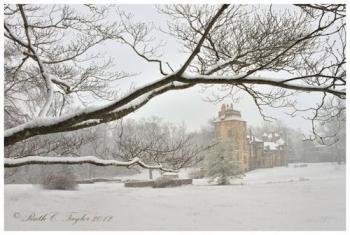 Winter Mist at Fonthill Castle - Doylestown, PA