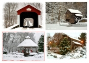 Bucks County Assortment - 6 Holiday Cards