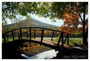 Autumn Light - Peaks of Otter, VA