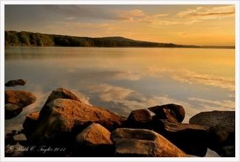 Golden Sunrise - Lake Nockamixon, PA