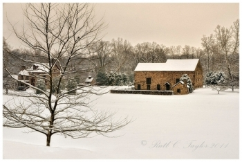 Winters Calm at Burgess Lea Farm - Solebury, PA
