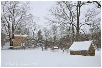 Winter at Historic Thompson Neely Farm - Washington Crossing