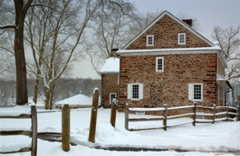 McConkey's Ferry's House - Holiday Card